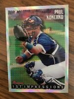1998 Bowman Chrome Reprint Refractor #45  Paul Konerko Los Angeles Dodgers  NrMt