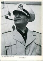 uralte AK, Schauspieler Hans Albers