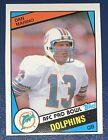 1984 Topps Dan Marino RC Miami Dolphins Rookie Card #123 HOF Clean Card!