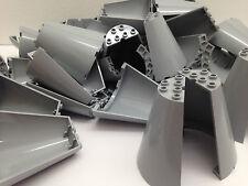 LEGO 48310 - 2 gris media Conos 8x4x6/2 PArtes por orden