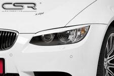 CSR Scheinwerferblenden für BMW E92 E93 Coupe Cabrio 06 Böser Blick Blenden Set