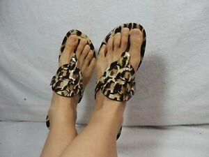 Tory Burch Miller Leopard Sandal size 9 M