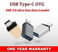 2x Type-C Male to USB3.0 Female Converter OTG Adapter For Samsung Galaxy S9 S9+