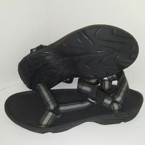 Teva Black Sport Sandal Sz 11 Hurricane 3 Mens Outdoor Water Shoes Stripes 6502