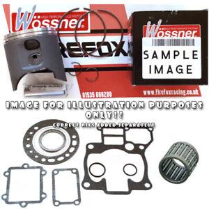 Suzuki RM80 1989 Top End Rebuild Kit WOSSNER Piston Kit - VARIOUS SIZES