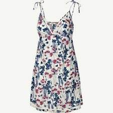 Fat Face Cotton Floral Sleeveless Dresses for Women