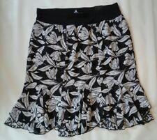 Lane Bryant womens black/white pull on skirt size 14/16- Lot B12
