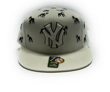 AMERICAN NEEDLE NEW YORK YANKEES WHITE BLACK MENS FITTED SIZE 7 1/2