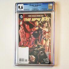 The New 52! CGC 9.6 1st App SIMON BAZ DC Comics FCBD Edition 2012 GREEN LANTERN