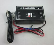 DC 24V Heat Cool -15-70C Temperature Adjustable Control Switch Relay Output 24V