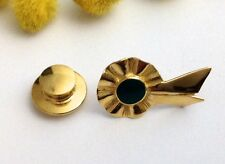SPILLA DA GIACCA IN ORO 18KT CON SMALTO - 18KT SOLID YELLOW GOLD BROOCH