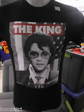Mens Licensed Elvis Presley The King Shirt New S