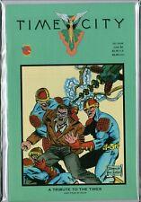 TIME CITY #4  (Rocket Comics) 1992  NM ref:B9.603