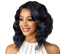 Limited Time Only Bobbi Boss Synthetic Lace Front Wig MLF181 Deep J Part - DENNA