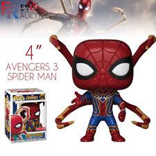 """4 """"Funko Pop Avengers 3 Spider Man 300 # Figurines Vinyle à Collectionner Modèle"""