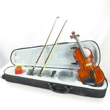 Primaveri P100 1/4 Violin  in Black Case With Chin Rest and 2 Bow's Fairly