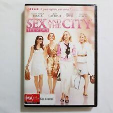 Sex and the City: The Movie DVD Region 4 PAL Australia Sarah Jessica Parker NEW