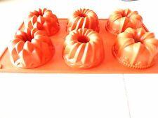 stampi per teglia riutilizzabili antiaderenti per ciambelle Stampi per orsetti di coniglio per dolci fai da te Biscotti Ciambella Stampi per ciambelle in silicone per cottura al forno