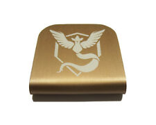 Pokemon Go Team Mystic Hat Clip - Copper for Tactical Patch Caps by Morale Tags