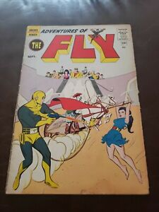 Adventures of the Fly #8 FN- 1st App The Shield (1st Capt America) Archie 1960