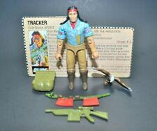 "GI Joe ARAH Spirit 1984 3.75"" 100% Complete w/File Card Hasbro Vintage Figure"