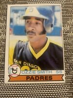 1979 TOPPS OZZIE SMITH ROOKIE SAN DIEGO PADRES CARD #116 HIGH GRADE