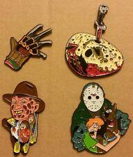 Freddy Vs Jason Horror Enamel Pin Pack - Nightmare on Elm Street Friday the 13th