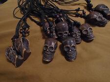 Acrylic Skull Head Necklace - Pirate Theme