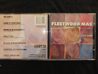 RARE CD FLEETWOOD MAC / BOSTON LIVE /