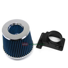 MAF Mass Air Sensor Adapter+Blue Filter for Eagle 95-99 Talon 2.0L TSI Turbo