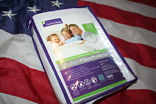 Healthy Sleep Ultra Tech Pillow Protector: standard/queen/waterproof/NEW! #3473