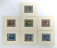 Satz Briefmarken Internationale Verkehrsausstellung