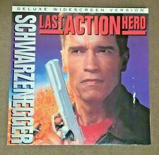LAST ACTION HERO (1994) - ARNOLD SCHWARZENEGGER - WIDESCREEN LD LASERDISC
