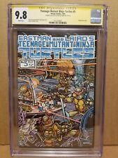 TEENAGE MUTANT NINJA TURTLES #5 CGC 9.8 SS SIGNED & SKETCH by KEVIN EASTMAN 1985