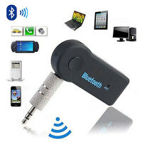 Mini Car Interior 3.5mm A2DP Audio Stereo Wireless Bluetooth3.0 Receiver Adapter