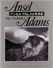 "Ansel Adams Book "" Photo Technique The Camera "" 1995 Japan  good Super rare"