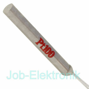 Temperaturfühler Typ PT100 30x4mm  -50°C - 250°C  Thermoelement Temperatursensor