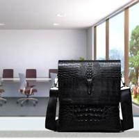 Leather Messenger Bag for Men Satchel Briefcase Business Shoulder Crossbody Bags