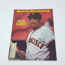 RARE 1970 Sports Illustrated Willie Mays San Francisco Giants Baseball Magazine
