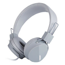 Rockpapa Over Ear Foldable Headphones Headsets for PHONES iPod iPad Mp3/4 DVD PC Grey