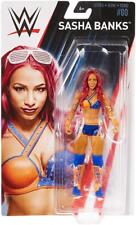 Sasha Banks WWE Mattel Basic Series 80 Brand New Action Figure Mint Packaging