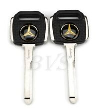 2X For MERCEDES BENZ BLANK KEY C S SEL SL SLC W126 W201 190 200 230 260 300