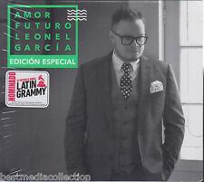 2 CD's / 1 DVD  Leonel Garcia CD Amor Futuro EDICION ESPECIAL (Sony Music)