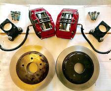 "98-02 Wilwood Camaro Forged Superlite 4 Piston 13"" Front Big Brake Kit 2 piece"