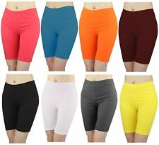 Womens Plus Size Cycling Gym Running Yoga Above Knee Length Summer Shorts