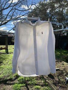 Ralph Lauren White Shirt Men's Small