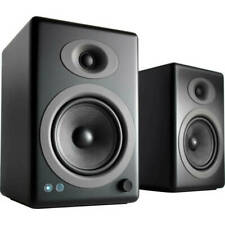 Audioengine A5+BT-BLK Wireless Bluetooth Speaker System - Satin Black