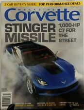 Corvette Magazine July 2016 Stinger Missile Z Car Buyers Guide FREE SHIPPING sb
