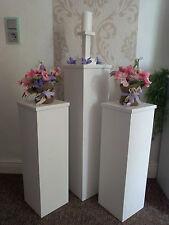 Dekosäulen 3er Set 20cm Tiefe, Deko Säulen