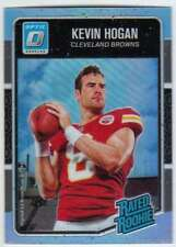 2016 Donruss Optic Rated Rookies Carolina Blue Refractor /50 #182 Kevin Hogan